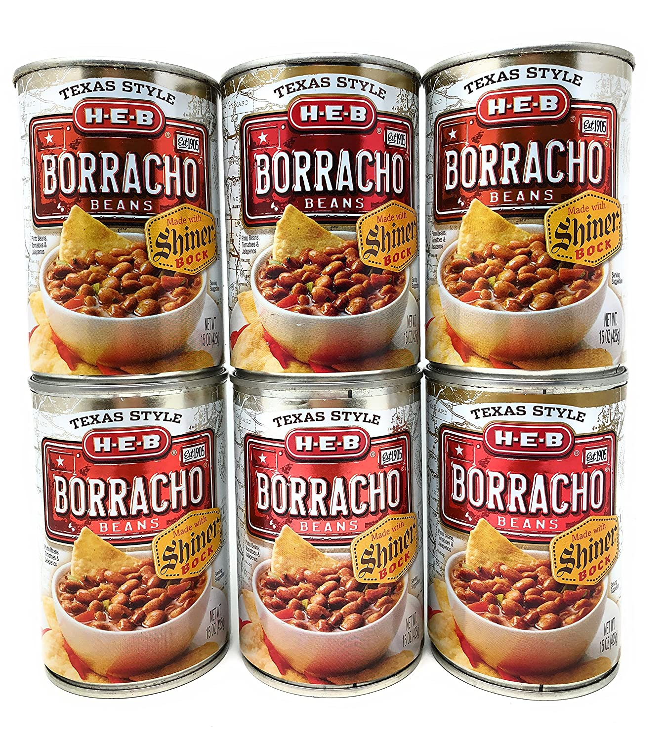 HEB Borracho Beans Ranking TOP9 Made with Shiner 6 Manufacturer regenerated product Beer 15oz of Bock Pack