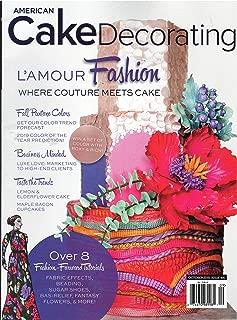 American Cake Decorating Magazine October 2018