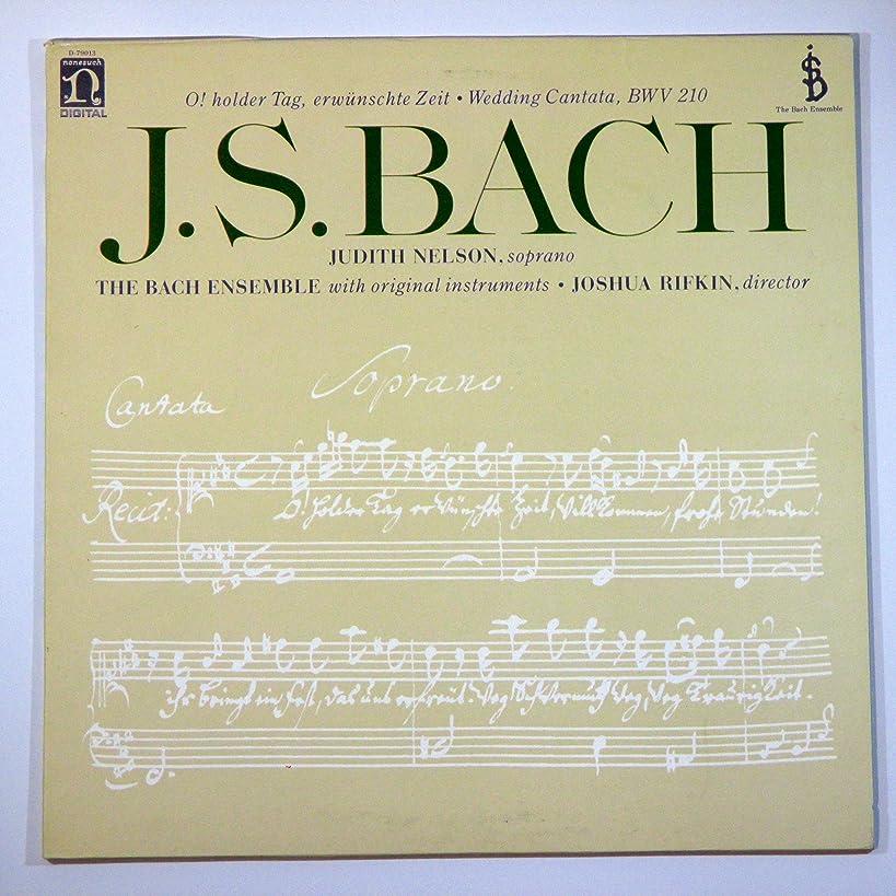 J. S. Bach: O! Holder Tag, Erwunschte Zeit / Wedding Cantata, BWV 210