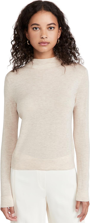Vince Women's Seamless Mock Neck Pullover