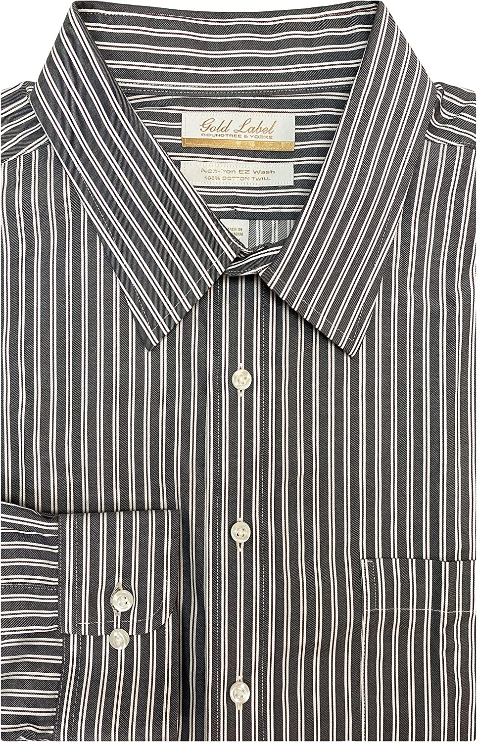 Gold Label Men's Big Max 76% OFF and Al sold out. Tall Non-Iron Wrinkle-Resistant Long Sl