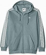 adidas Originals Men's 3-Stripes Zip Hoodie