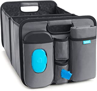 Munchkin Brica Out-N-About Collapsible Trunk Organizer & Diaper Changing Station