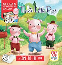 The Three Little Pigs Augmented Realit Come-to-Life Book (Little Hippo Books)