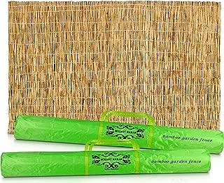 bamboo mat fence