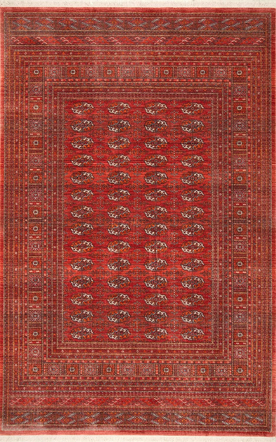nuLOOM Directly managed store Renaissance Giovanna Attention brand Area Rug Red 7' 9