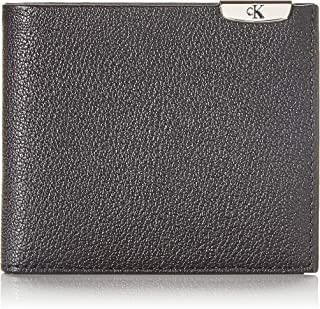Calvin Klein Jeans Micro Pebble Billfold Wallets, Card Cases & Money Organizers, Black, 10 cm - K50K505589