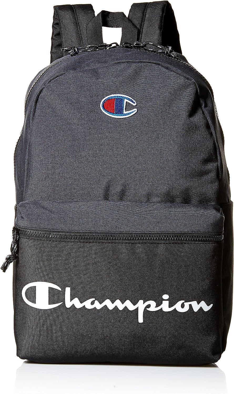 Champion Men's Manuscript Backpack, heather grey, One size