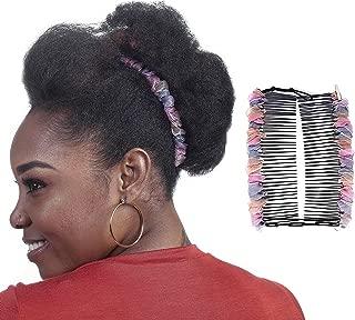 double comb hair clip