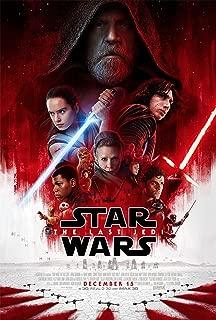 Star Wars The Last Jedi Movie Poster Limited Print Photo Daisy Ridley, John Boyega, Mark Hamill Size 24x36 #2
