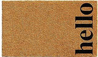 Calloway Mills 102611729NBB Vertical Hello Doormat, 17