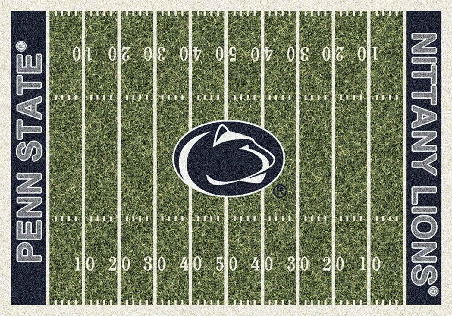 Penn State Chicago Mall San Antonio Mall Home Field Rug Lions End Nittany Zone Col