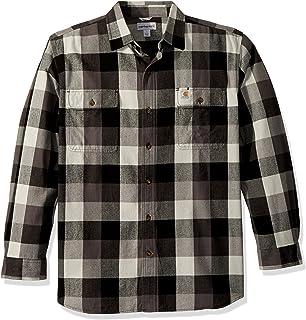 91167cf89e2 Amazon.com  Carhartt - Casual Button-Down Shirts   Shirts  Clothing ...