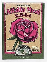 Down to Earth Organic Alfalfa Meal Fertilizer Mix 2.5-0.5-2.5, 5 lb