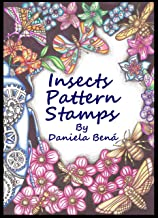 Insects pattern stamps by Daniela Bená (Portuguese Edition)