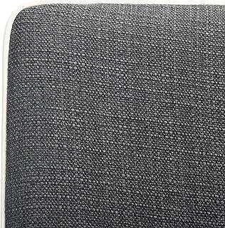 Safavieh Home Collection Summerset Mid-Century Modern Dark Grey and White Arm Chair