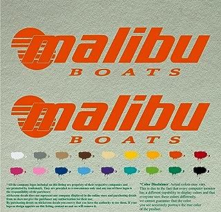 malibu boats sticker