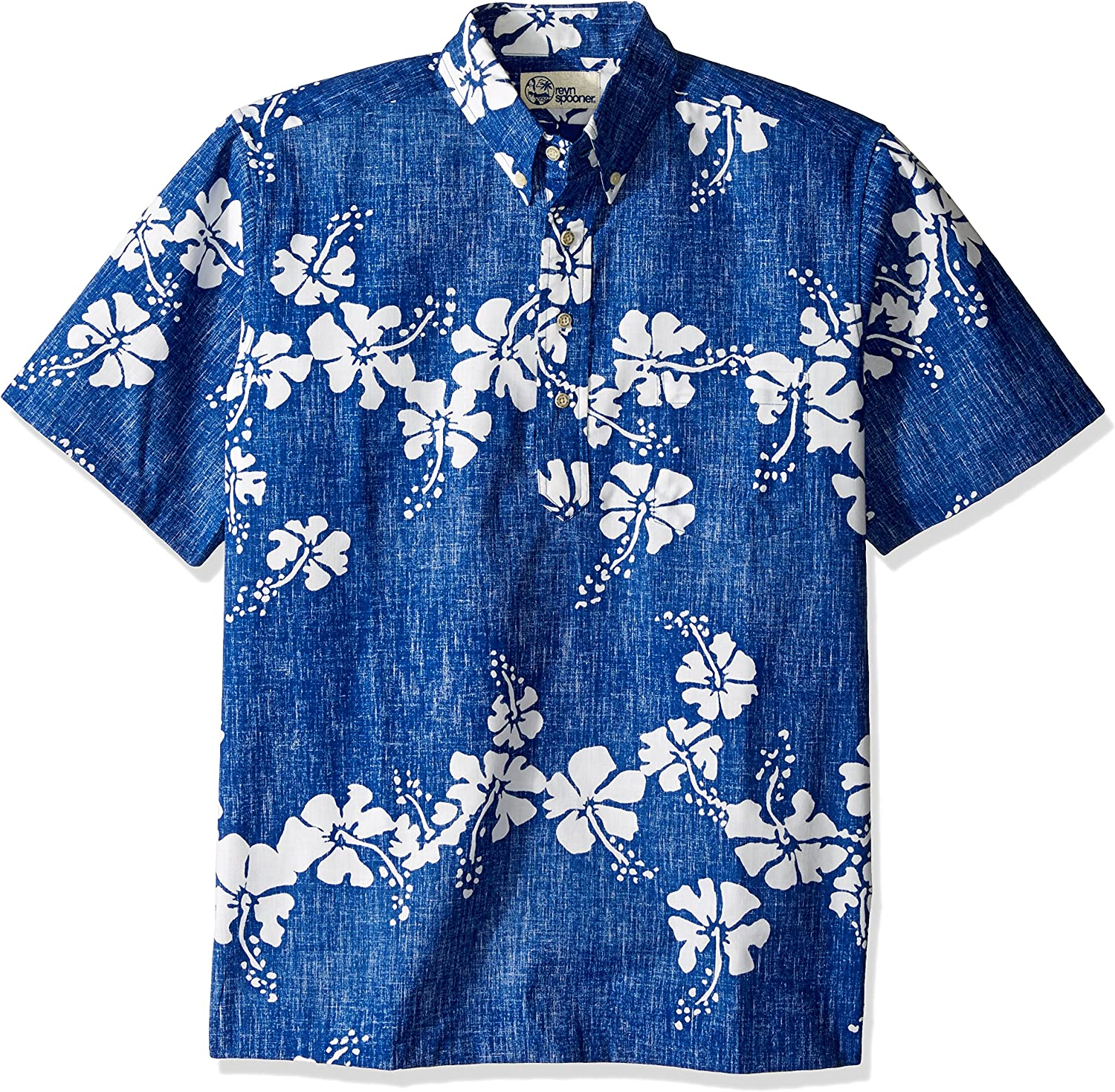 Reyn Spooner Large-scale sale Men's Latest item 50th State Flower P Kloth Classic Fit