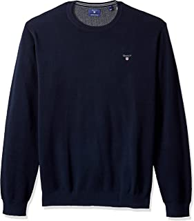 GANT Men's Cotton Pique Crew Jumper