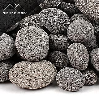 Blue Ridge Brand trade; Lava Rock - 25-Pound Tumbled Lava Stone Assortment for Fire Pit - 1