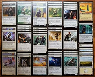 Magic: The Gathering Modern Legal Soldier White Custom Magic Deck
