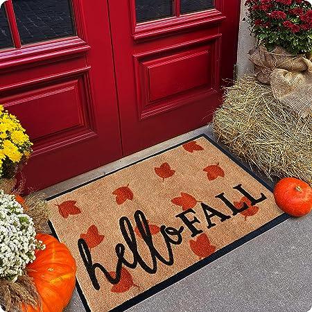 Welcome Mat - Door Mat - Fall Door Mat - Halloween Door Mat - Welcome Mats Outdoor - 30x18 Doormat - Door Mats Outdoor - Outdoor Mat - Indoor Door Mat