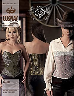 Cosplay by McCall's Laced Sewing Pattern, A5 (6-8-10-12-14)