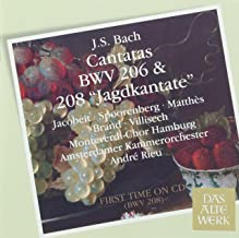 Bach J.S: Cantatas Bwv 206 & 208