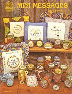 Mini Messages by Dafni, Leaflet No. 5 Counted Thread Cross Stitch