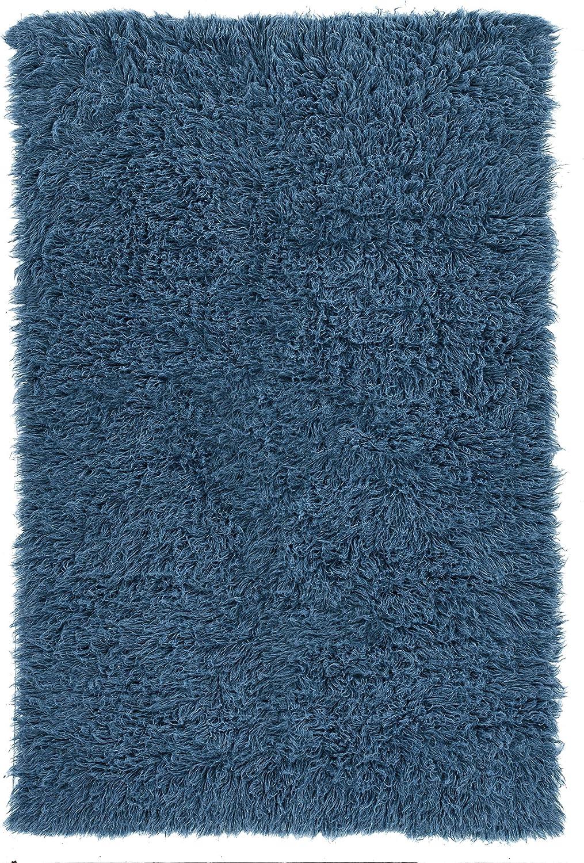 Linon Finally popular brand New Flokati Denim 8 Sales x Blue 10