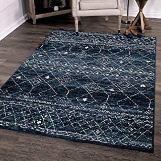 Orian Rugs Farmhouse Sonoma Collection 409994 Indoor/Outdoor Gabbeh Field Faded Area Rug, 7