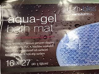 Aqua Gel Bubbled Bath Mat AS SEEN ON TV - 16 x 27 Inches