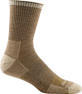 Darn Tough Men's Fred Tuttle Micro Crew Cushion Sock ( Style 2005 ) Merino Wool - 6 Pack Special
