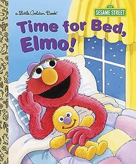 Time for Bed, Elmo! (Sesame Street) (Little Golden Book)