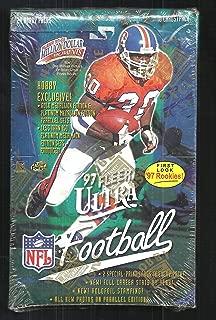 1997 FLEER SKYBOX IMPACT FOOTBALL FACTORY SEALED RETAIL BOX 18 PACKS PER BOX