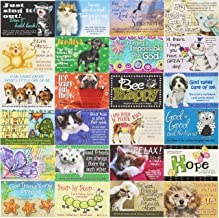 Pass It on Religious and Inspirational Animal Themed Message Cards - Package of 24 Assorted Cards