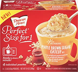 Duncan Hines Perfect Size for 1 Breakfast Muffin & Cake Mix