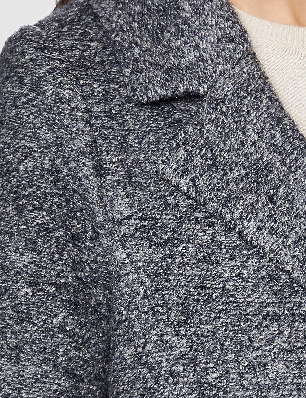 Bugatti Damen Wollmischungs-Mantel Marine