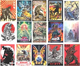 20-Pcs GTOTd Stickers for Godzilla VS Kong Stickers Decals Vinyls for Laptop,Teens,Cars,Gift,Movie Collection