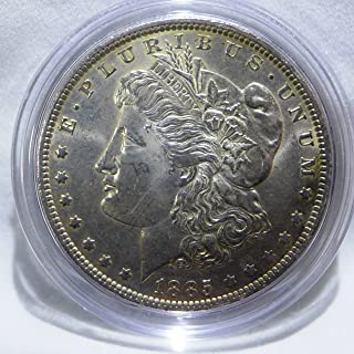 1885 O Morgan Silver Dollar Almost Uncirculated
