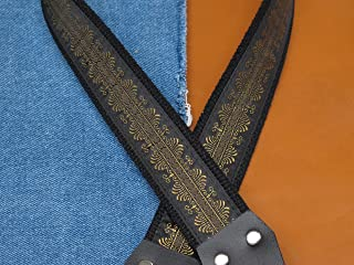 MEMPHIS Cotton USA made A & F style TROPHY Mandolin Strap