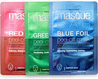 Masque Bar Gemstone Collection - Metallic Foil Korean Peel Off Face Masks