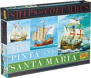 Lindberg HL223 Ships of Columbus The Nina, The Pinta, and The Santa Maria 1:144 Scale Plastic Model Kits - Requires Assembly