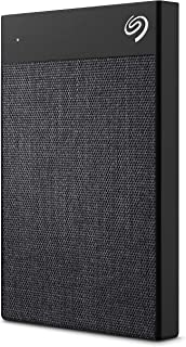 Seagate Backup Plus Ultra Touch 2TB External Hard Drive Portable HDD – Black USB-C USB 3.0- (STHH2000400)