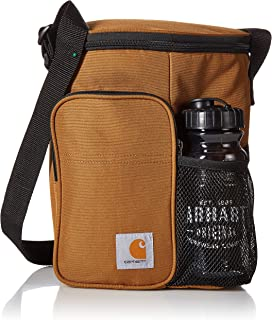 Vertical Insulated Lunch Cooler Bag with Water Bottle