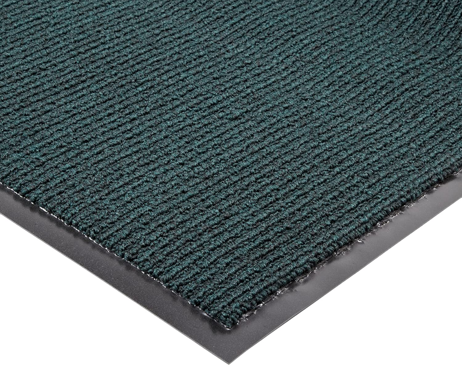 Notrax 132 Estes Entrance Mat, for Main Entranceways and Heavy Traffic Areas, 3' Width x 5' Length x 3 8  Thickness, Hunter Green