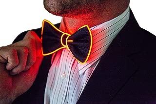 Light Up Bow Tie by Neon Nightlife   Men's Glow in the Dark LED Tie