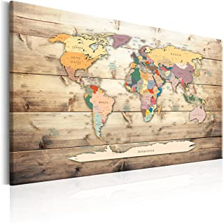 comprar comparacion murando Tablero De Corcho & Cuadro en Lienzo 120x80 cm No Tejido XXL Estampado Memoboard Decoración De Pared Impresión Art...