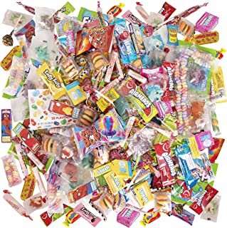 Narwhal Novelties, Pinata Candy or Halloween Candy Assortment (100-Pack) Assorted Candy; Twizzlers, Sour Patch, Nerds, Laffy Taffy, Smarties, Air Heads; Bulk Candy