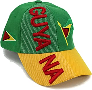 "Nations of South America Hat Collection"" Embroidered Adjustable Baseball Cap"